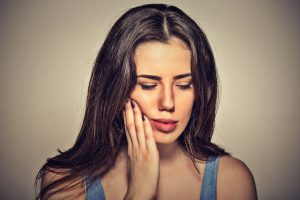 woman toothache, dental pain, woman in pain
