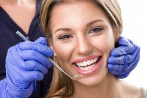 woman dental checkup