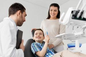 family and the dentist